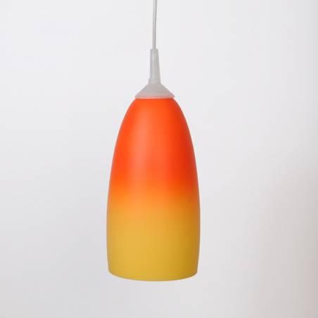 Klosz 4325 opalowy malowany farbą - śr. 125/42 mm