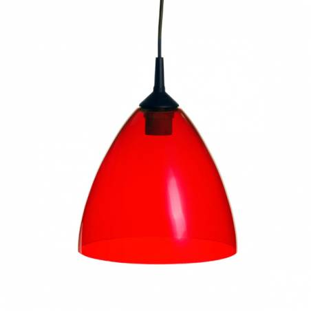 Cristal glass painted lampshade 4360