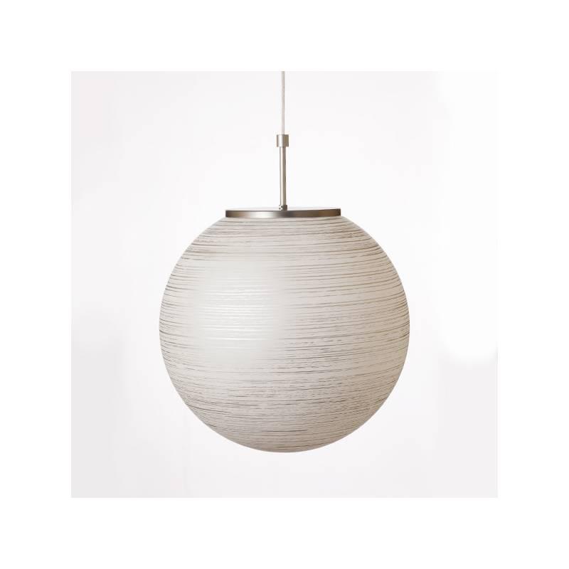 Lampa 4500 jasna malowana farbą zdobiona spiralą - śr. 400/150 mm