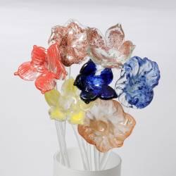 A glass flower