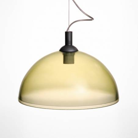 Cristal glass painted lampshade 1069 - d. 350/42 mm