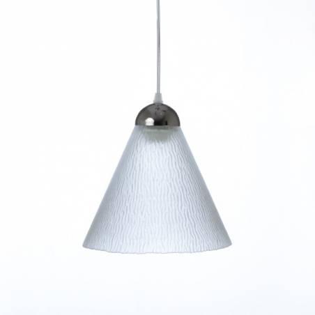 Cristalglass matte lampshade 1124 - d. 225/50 mm