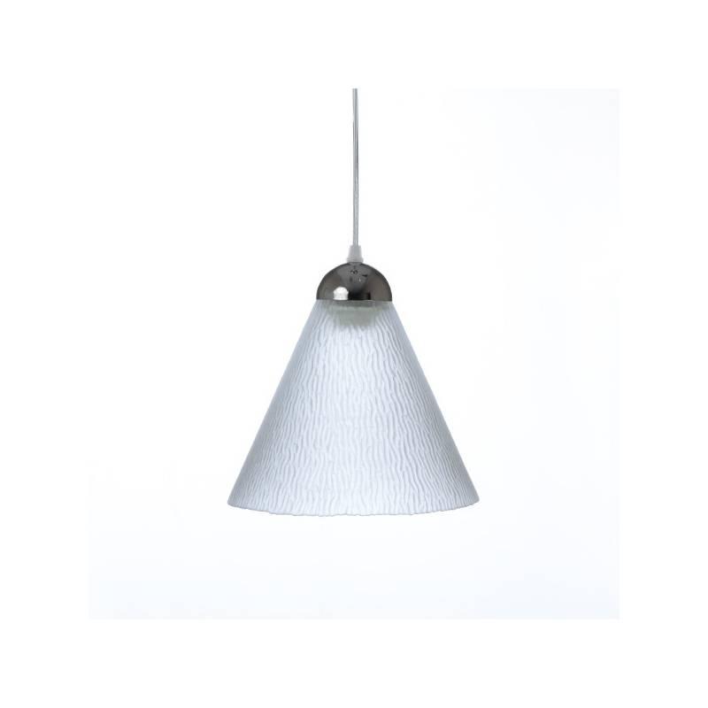 Cristal glass matte lamp 1124 - d. 225/50 mm