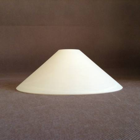 Cristal glass painted lampshade 1177 - d. 240/42 mm