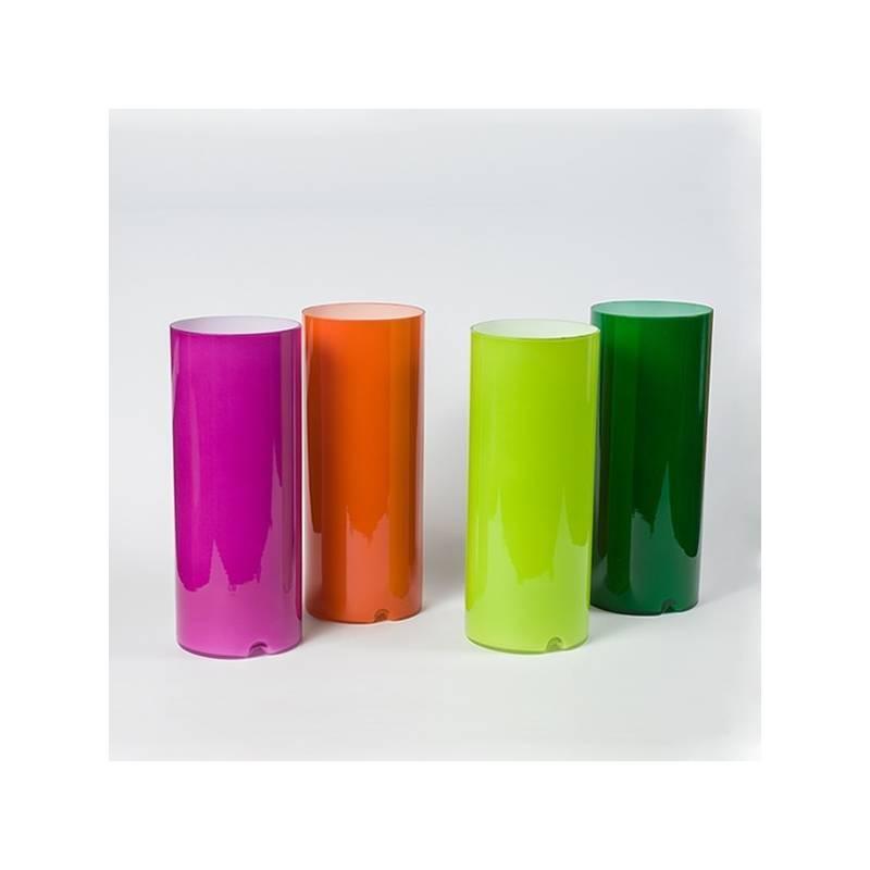"Lampa 4348 ""Matylda mini"" stołowa opalowa malowana farbą - h. 250 mm"