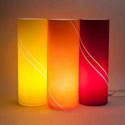 """Lampa 4410 """"Matylda midi"""" opalowa zdobiona - h. 350 mm"""