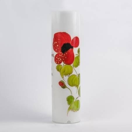 Table lamp 4417 with flower design - h. 450 mm