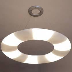 Lampe  GALAXIA L1 Opal matt - d. 1540 mm