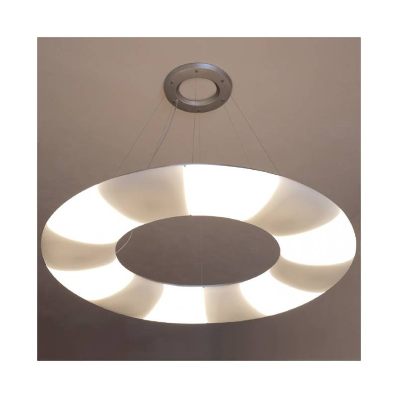 Opal matte lamp GALAXIA L1 - śr. 1540 mm