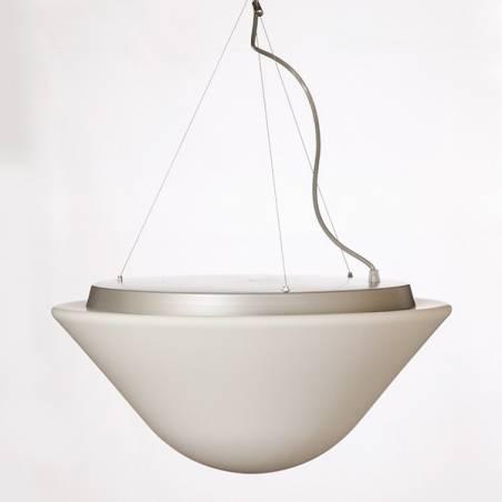 Opal matte lamp DRACO T5 - d. 490 mm