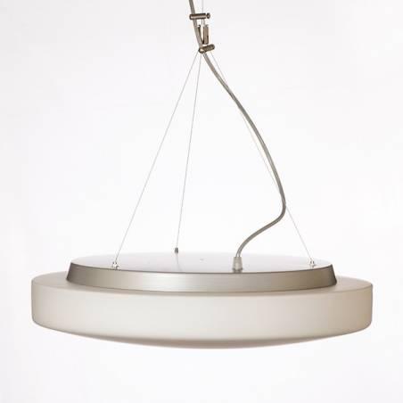 Lampa EDNA T5 opalowa matowa - śr. 490 mm