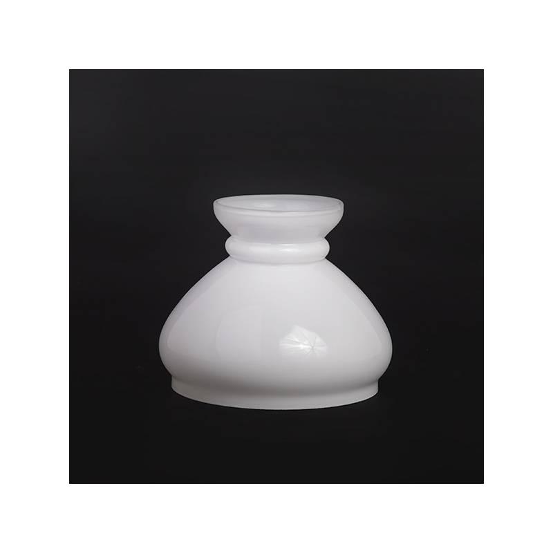 Klosz 0377X do lampy naftowej opal - alladyn - otw.mont. 154 mm