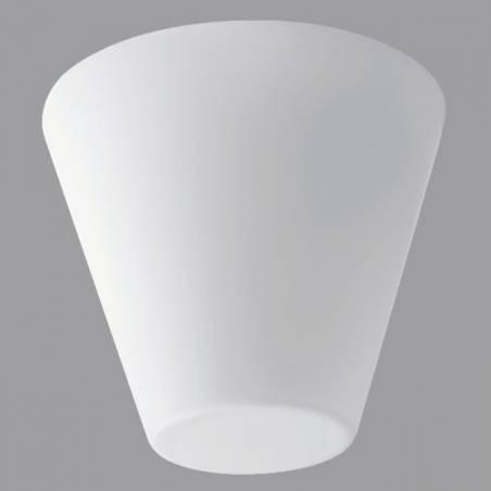 Plafon AKIE opalowy matowy - śr. 264 mm