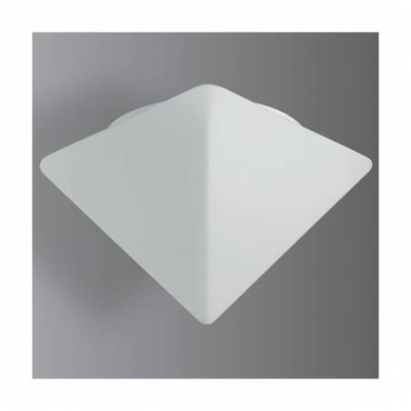 Opal matte plafond PYRAMUS 2 - l. 320 mm