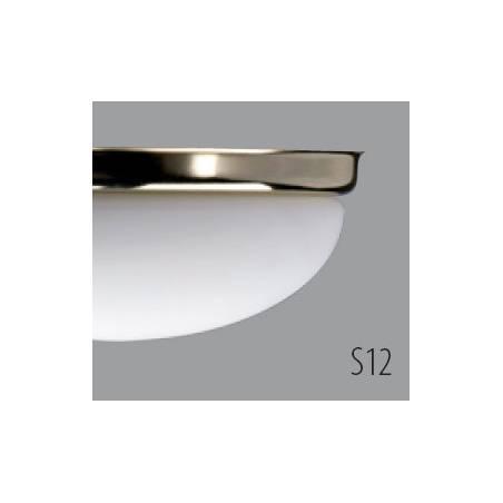 Plafon ALMA D2 opalowy matowy - dł. 370 mm