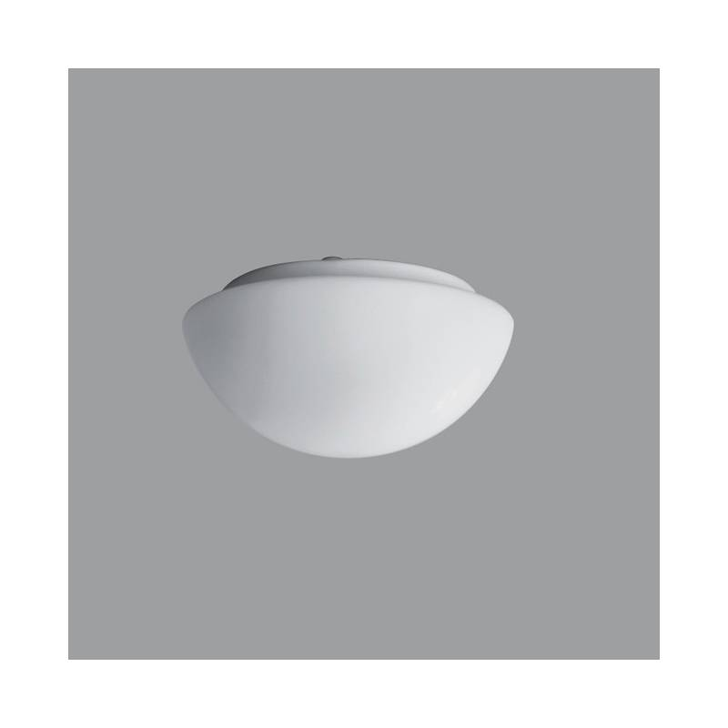 Opal matte plafond AURA 1 LED - d. 220 mm