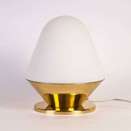 Opal matte table lamp ACTOR SL - d. 220 mm