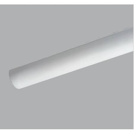 Opal matte plafond SYLVIA 1 LED - l. 610 mm