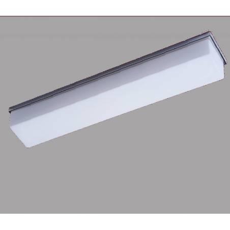 Plafon SYLWIA D2 opalowy matowy - dł. 620 mm