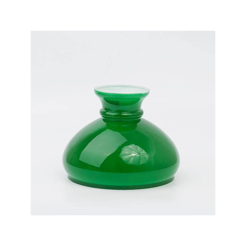 klosz do lampy naftowej zielony