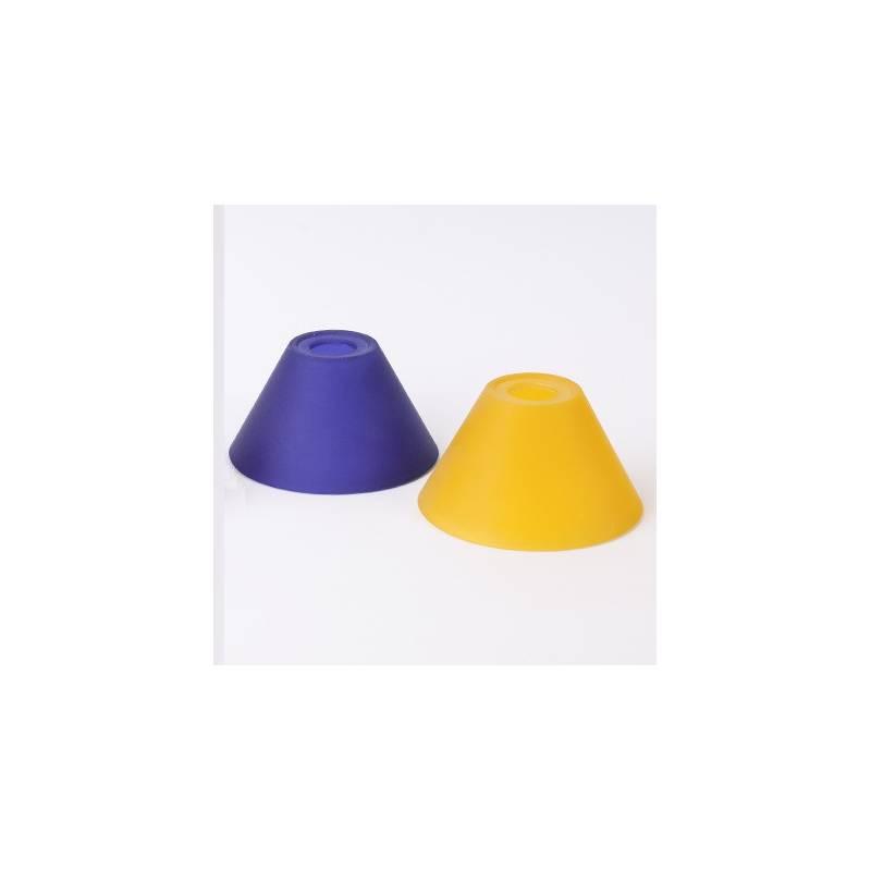 Klosz 1047 E14 jasny malowany farbą