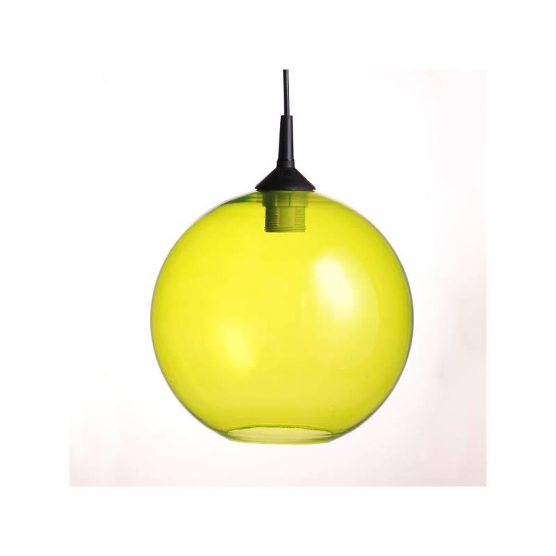 Klosz 4057 opalowy/jasny malowany farbą - śr. 300/42 mm