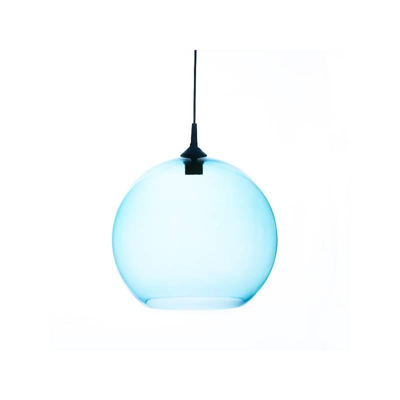 Lampe 4067 opal/hell mit Farbe bemalt - d. 350/45 mm
