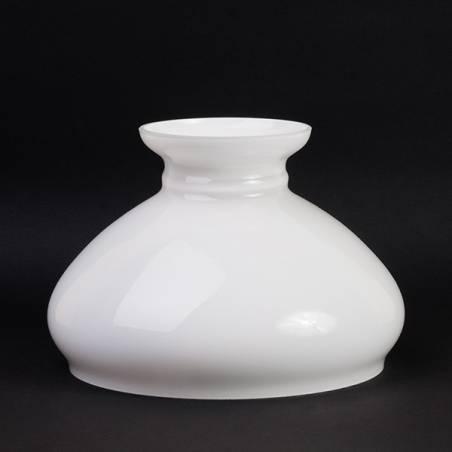 Klosz 0309X do lampy naftowej opal - aladyn - otw.mont. 186 mm