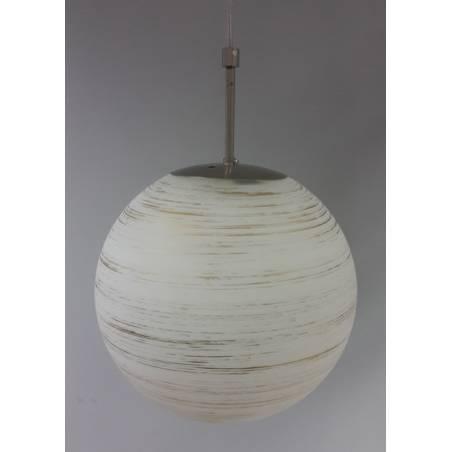 Klosz 4039 jasny malowany farbą zdobiony spiralą - śr. 300/100 mm