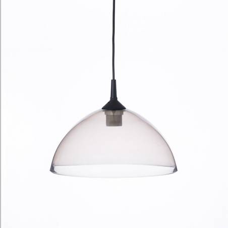 Clear glass painted lamp 1059 - d. 300/42 mm
