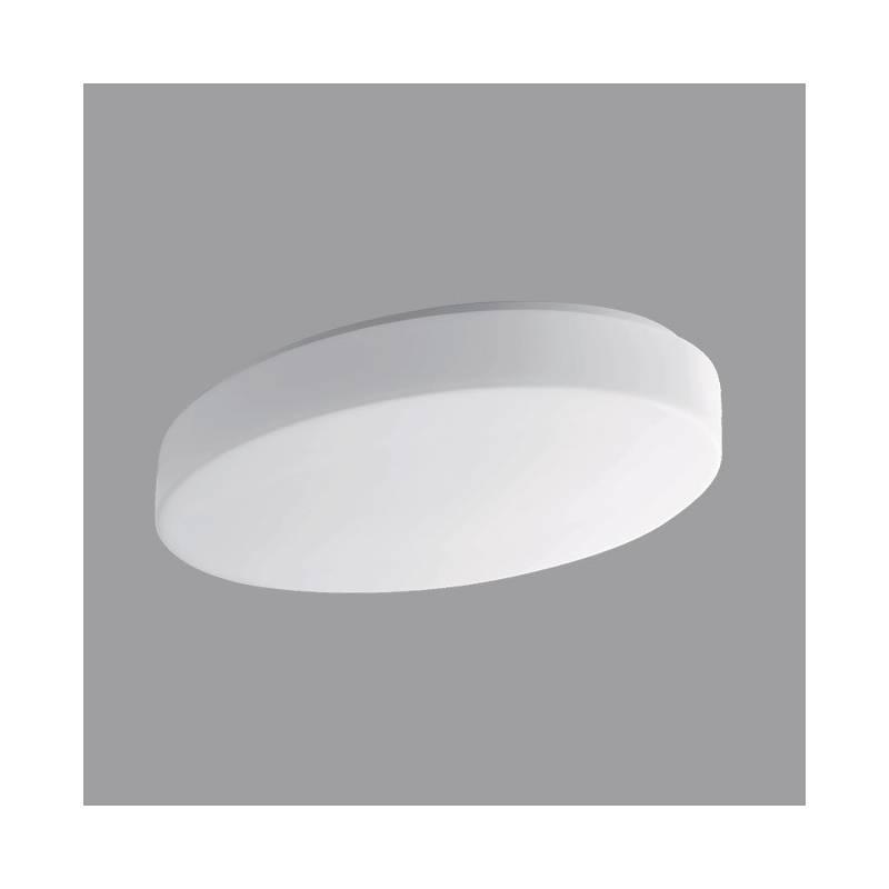 Opal matte plafond GEMINI 1 LED - l. 385 mm