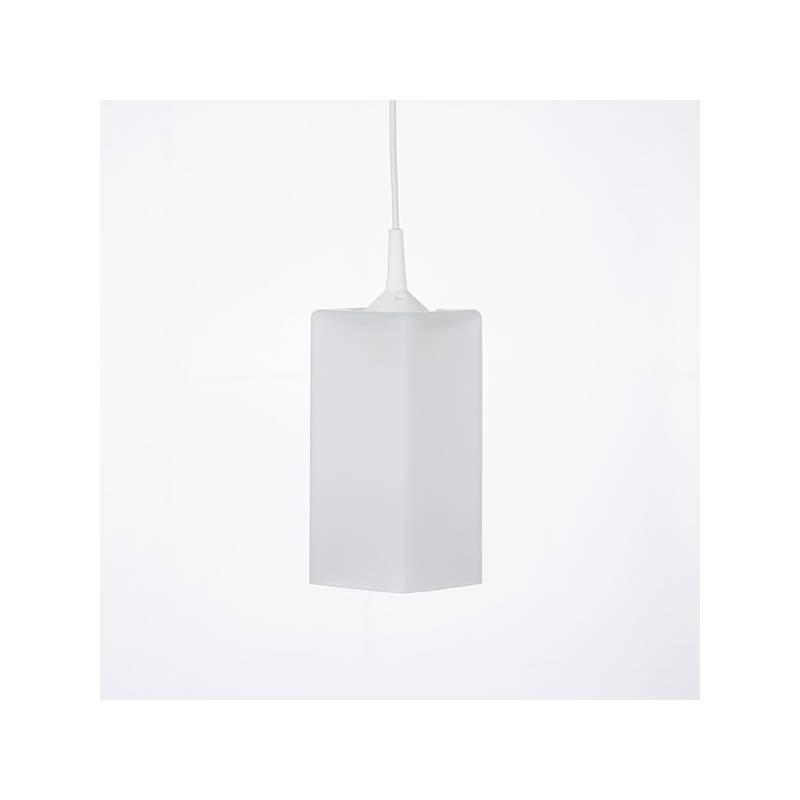 Cristal glass matte lamp 4419 - h. 210 mm