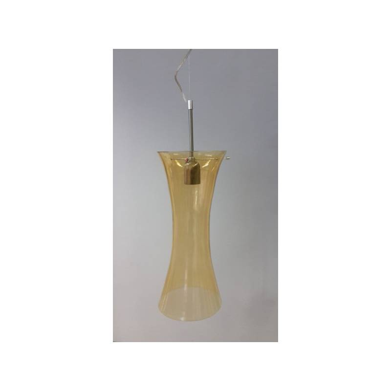Cristal glass painted lampshade 4395 - d. 180 mm