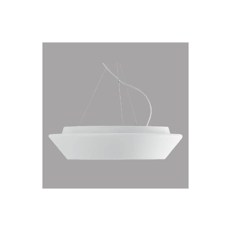 Opal matte lamp CRATER T5 - d. 490 mm