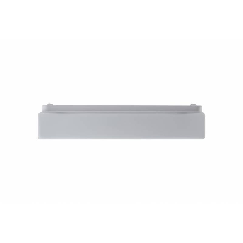 Plafon SYLVIA 2A opalowy matowy - dł. 380 mm