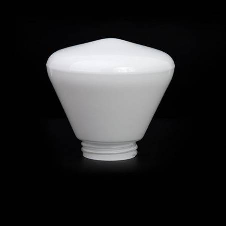 Lampshade 4587 in different options with thread - d. 185/84,5 mm