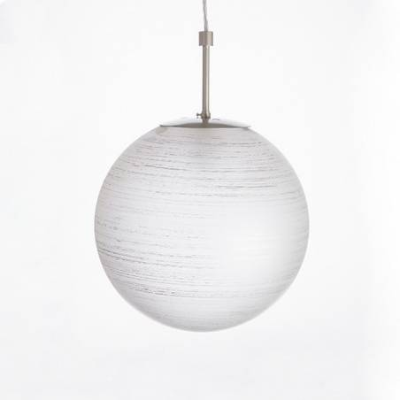 Lampa 4039 jasna malowana farbą zdobiona spiralą - śr. 300/100 mm