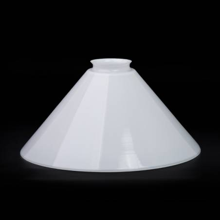 Opal lampshade 0078X - d. 246/57 mm
