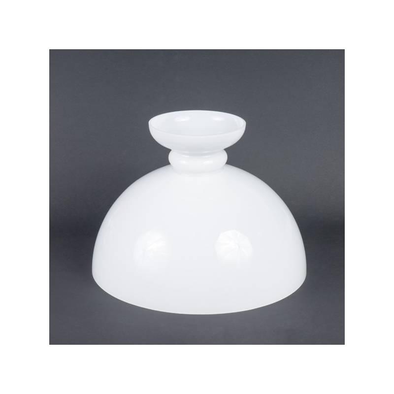 Klosz 282B do lampy naftowej opal - alladyn - otw.mont. 345 mm