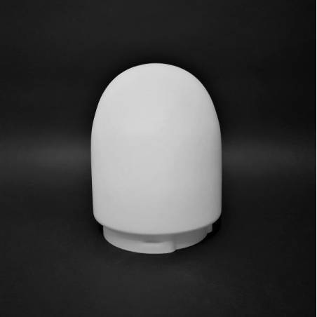 Opal matted lampshade 0058X - d. 110/100 mm