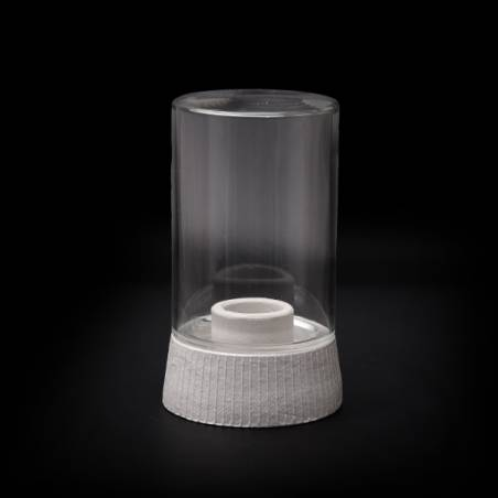 Clear lamp 0028X with thread - d. 100/84,5 mm