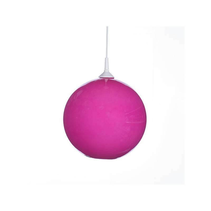 Klosz 4054 opalowy/jasny malowany farbą - śr. 250/42 mm