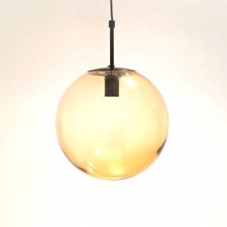 Cristal glass painted lamp 4039 - d. 300/100 mm