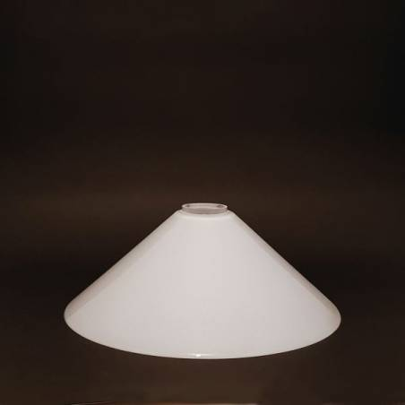 Opal lampshade 0084X - d. 300/44 mm - second quality