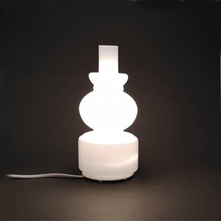 Lampa 5602 stołowa opalowa - h. 227 mm