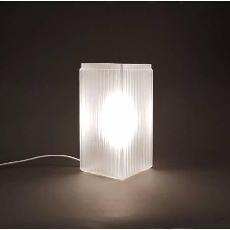 Cristalglass matte lamp 4419XZ E14 - h. 210 mm