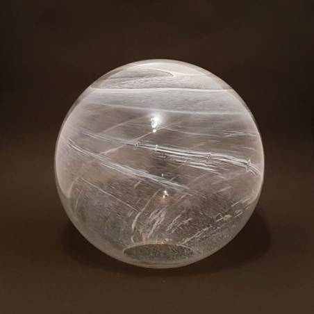 Cristal glass lampshade 5160 with alabaster- d. 350/124 mm