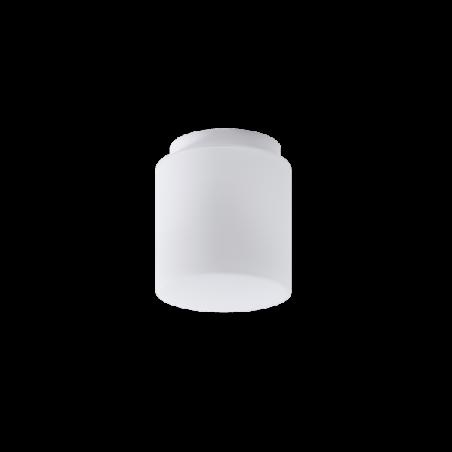 Opal matte plafond ALKOR 1 LED - d. 104 mm