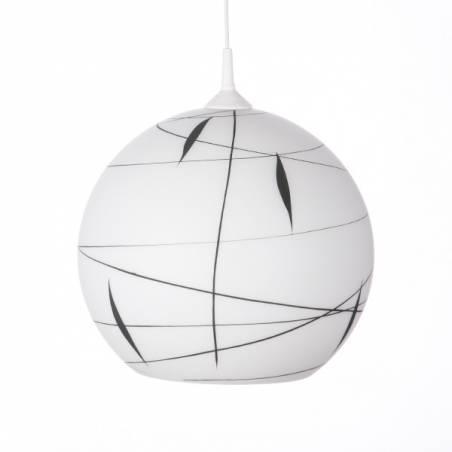 Opal matte lampshade 4067 - d. 350/45 mm