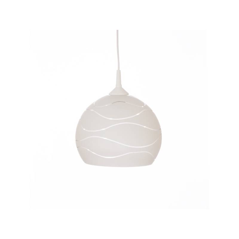 Cristal glass pained lampshade 4070 with decor